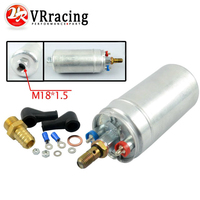 VR RACING TOP QUALITY External Fuel Pump 044 OEM 0580 254 044 Poulor 300lph Come With