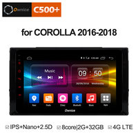 Ownice C500+ G10 8 core android 8.1 car dvd gps navi 4G for Toyota COROLLA 2016 2018 car radio video player Headuint 2G 32G