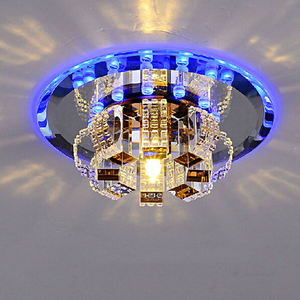 где купить Creative led spotlights aisle lights crystal lamp corridor lighting fixture for balcony entrance lamp lights hall lighting lamps дешево