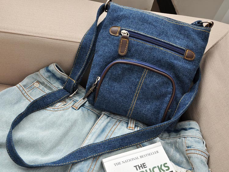 Aliexpress.com : Buy womens denim messenger bags ladies mini small ...