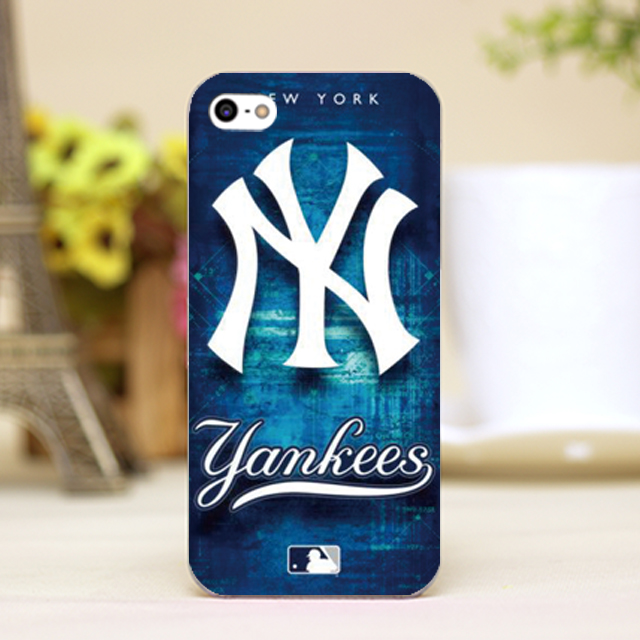pz0102-12 NY New York yankees luxury Design phone transparent cover cases for iphone 4 5 5c 5s 6 6plus Hard Shell