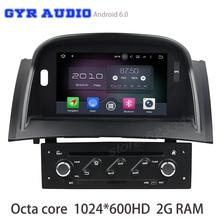 Восьмиядерный Android 6.0 Автомобильный DVD Радио для Renault Megane 2 II Fluence 2003-2009 с GPS USB WI-FI 4 г Bluetooth Зеркало Ссылка радио