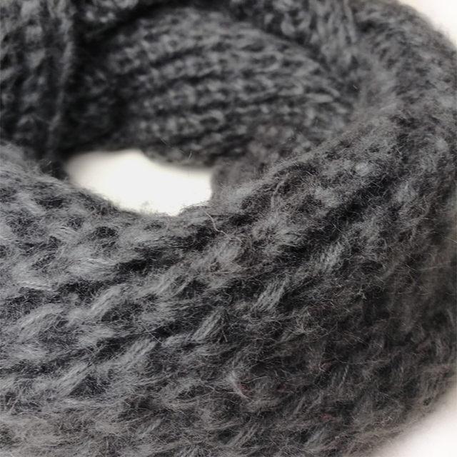 Tienda Online Leo anvi ganchillo bufanda infinito bufandas gruesas ...