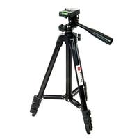 Czarny Kolor Regulowany Elastyczny Mini Lekki 4 Sekcja Statywu Ze Stopu Aluminium Digital SLR Camera Phone Akcesoria