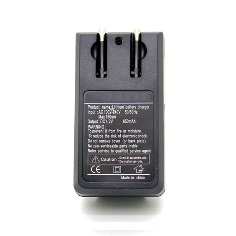 LEORY EU/US/UK Plug 2 Battery Charger 3.7V 18650 Li-ion Battery Charging For 18650 Rechargeable Battery AC Power Wall Adapter