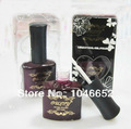 N-15 ,magenta bottle uv gel polish ,217colors for your choice