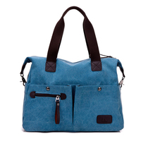 Canvas Leather Women Travel Bags Carry on Luggage Bags Duffel Bags Travel Tote Large Weekend Bag Overnight Male Handbag kz701