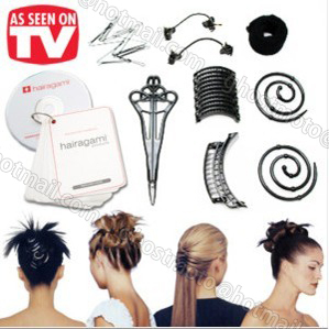 2015 Salon Beauty DIY Hairstyle Styling Kit Set with Total