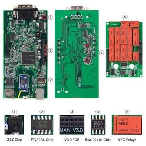 Image 2 - V3.0 PCB Multidiag Pro + NEC Relays For BMW OBD2 Bluetooth Scanner For Car / Truck 2017.3 obd 2 obd2 Car Diagnostic Auto tool