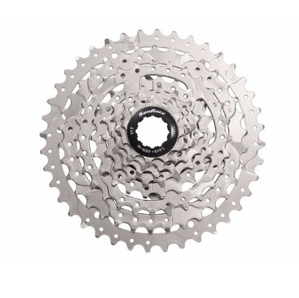 SunRace CSM680 8 Speed 11-40 Black OR Silver Bike Cassette dynavox csm 112 silver