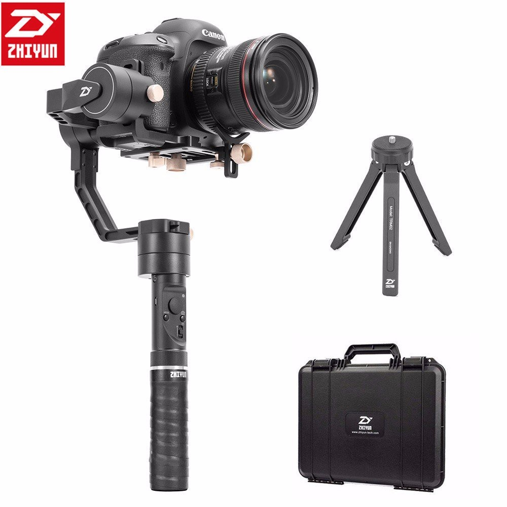 Zhiyun Crane Plus 3 Axis Handheld Gimbal Stabilizer Video DSLR Camera Steadicam for Sony Canon 5D Mirrorless Cameras цена