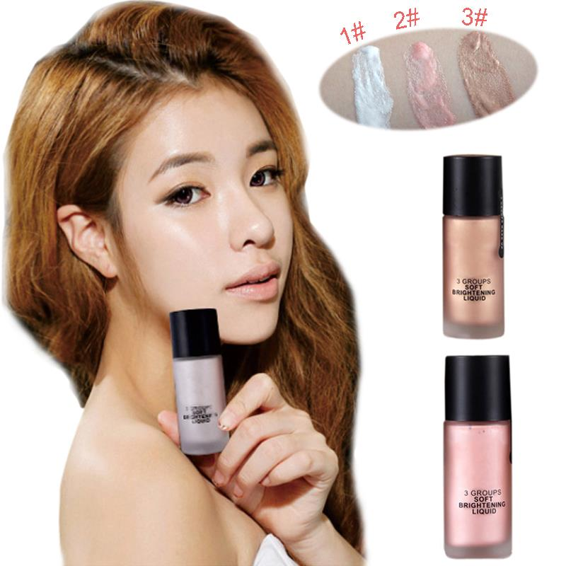 Hot makeup 3d shimmer exquisite concealer highlighter liquid hot makeup 3d shimmer exquisite concealer highlighter liquid brightener maquiagem moisture highlight concealer face bronzer in bronzers highlighters from ccuart Images