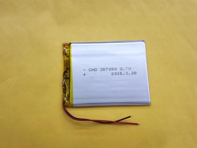 2500 mAh 3.7 v tablet batteria batterie agli ioni di litio Batteria di Ricambio per tablet tablette 357090