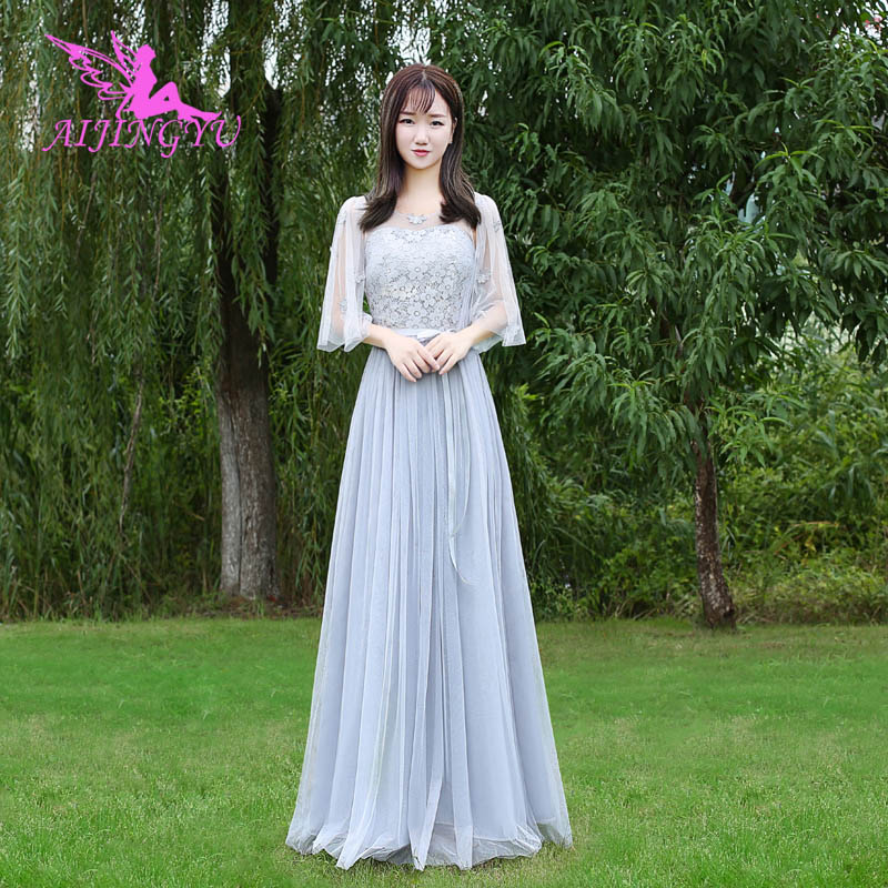 AIJINGYU 2018 hot wedding party   bridesmaid     dresses   short formal   dress   BN967
