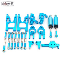Mirbest RC DIY Parts For Wltoys 12428 Parts 12423 FY 03 JJRC Q39 RC Car Metal parts Front Steering Block Upgrade accessories