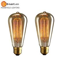 (st64) оптовая цена модная винтажная лампа накаливания красивая