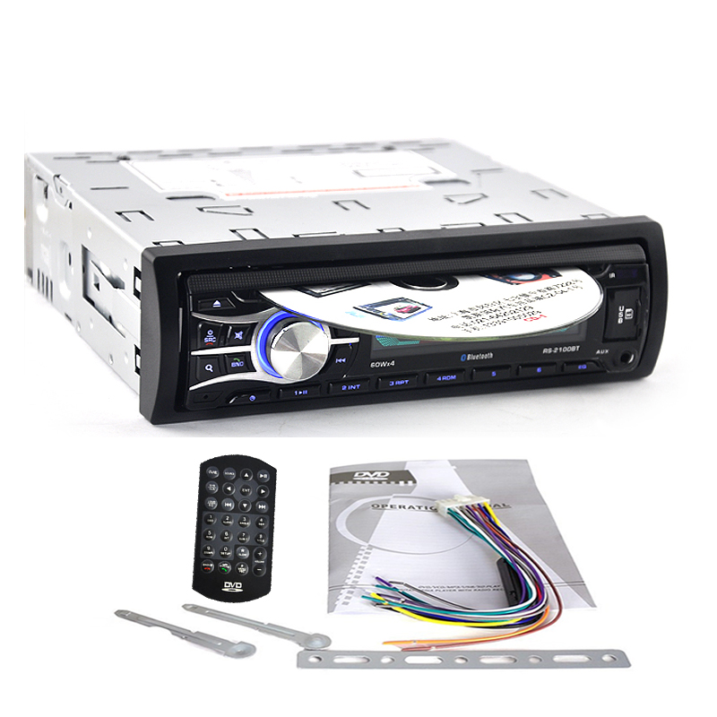Original Large Panel 2100PT Car Radio With CD USB AUX MP3 For Peugeot 207 206 307 308 807 Citroen C2 C3 C4 C5 C8 песни для вовы 308 cd
