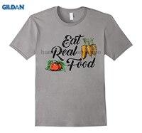 Gildan食べるリアル食品シャツファームにテーブルサポートローカル健康