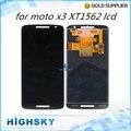 Экран для Motorola Moto X play XT1562 X3 жк-дисплей с сенсорным дигитайзер полной 1 шт. бесплатная доставка