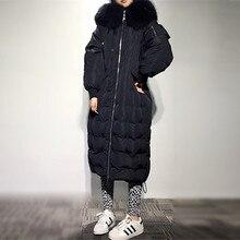 2016 New Fashion Parka Hooded Down Winter Jacket Loose Fashion Winter Coat Women Thick Overcoat Women's Winter Coat B099
