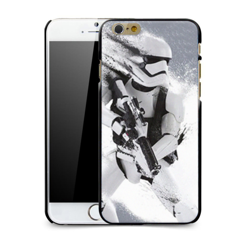 size 40 38d4d 23e03 US $1.98 |R2D2 STAR WARS COFFEE STORMTROOPER BACK PHONE CASE COVER FOR  APPLE IPHONE 6 6S-in Fitted Cases from Cellphones & Telecommunications on  ...
