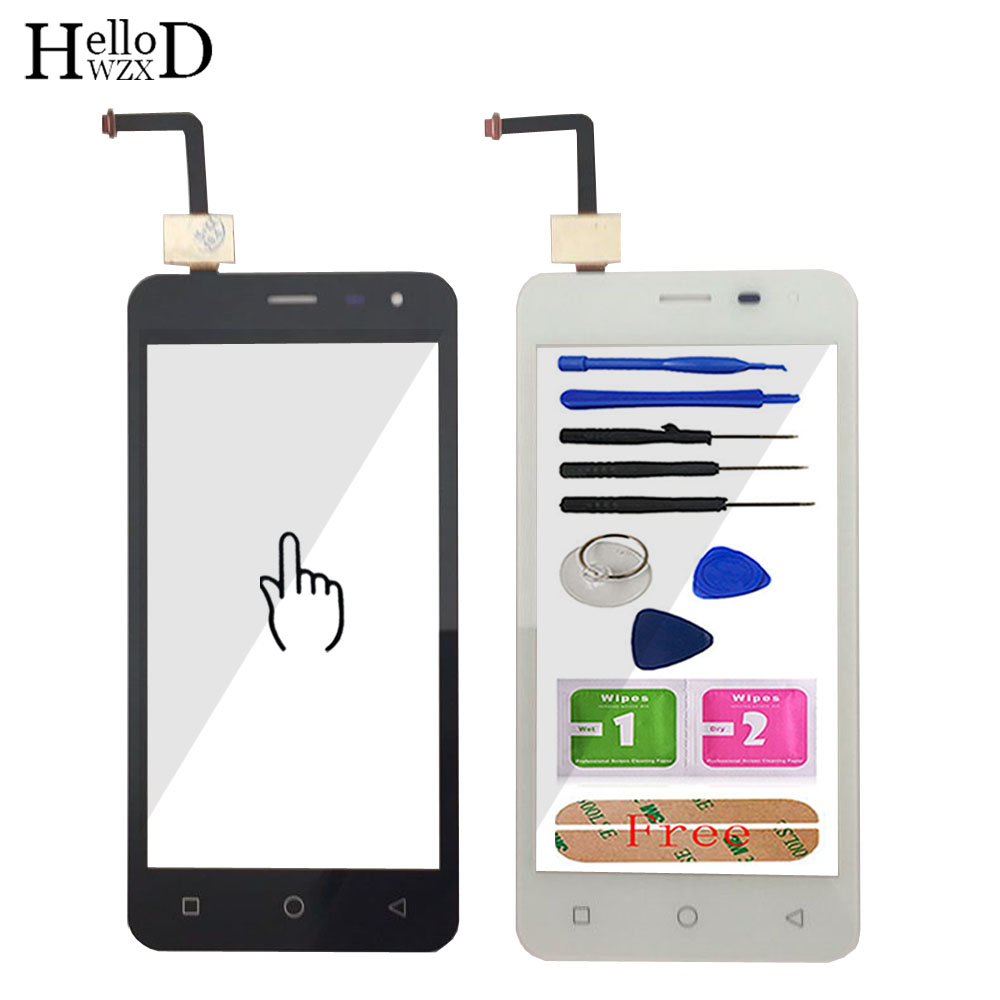 Touch Screen Glass For Micromax Canvas Pace Q415 Touch Screen Glass Digitizer Panel Lens Sensor Mobile Phone Tools Adhesive
