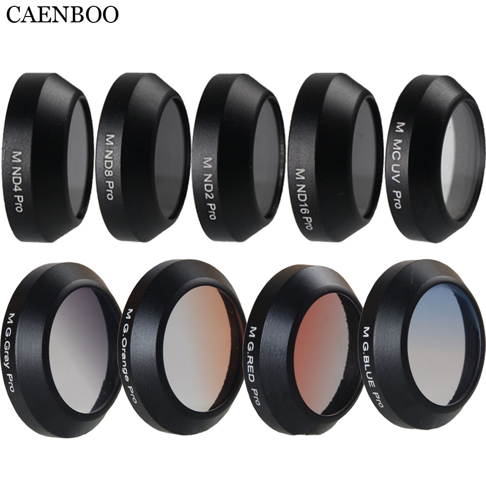 CAENBOO Filter Drone Für Dji Mavic Pro Filter ND CPL Polar Filter Set Mavic Professionelle M Sterne Farbe Drone Filter schutz