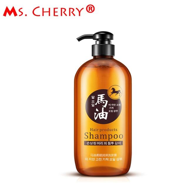 New Horse Oil Hair Shampoo Oil Control Hair Moisturizing Shine Enhancing Shampoos No silicone Oil Hair Care PH030