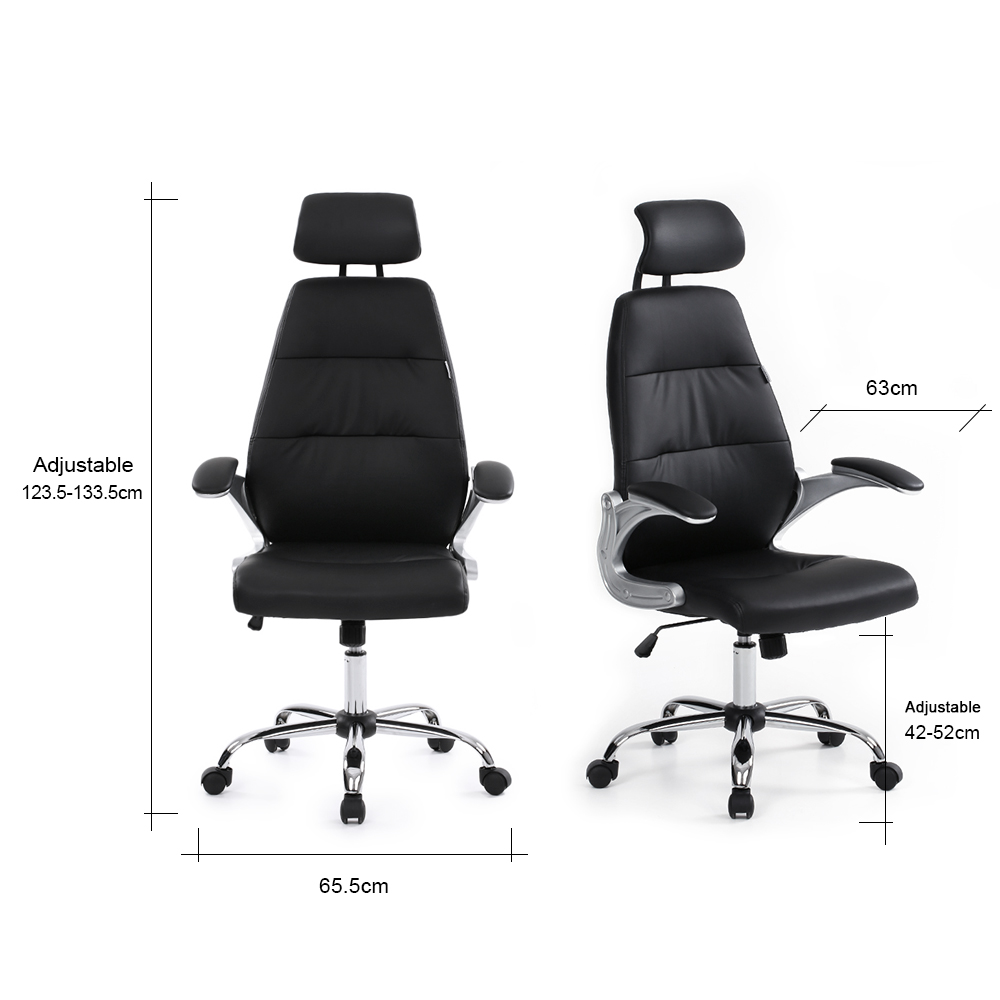Terrific Ikayaa De Fr Stock Office Chair Adjustable Office Executive Gmtry Best Dining Table And Chair Ideas Images Gmtryco