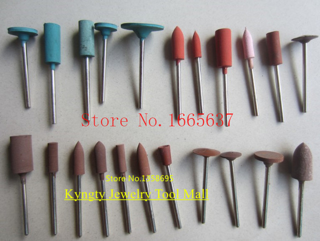 Promotion   Free Shipping rubber point, 22pcs/pack Jewelers Silicone Point, polishing points for goldsmith rotary Silicon