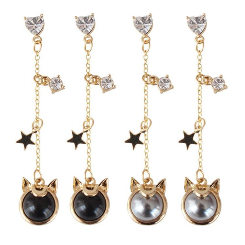 Novelty & Special Use Costume Props Considerate Anime Sailor Moon 25th Anniversary Artemis Luna Earrings Cosplay Jewelry Good For Energy And The Spleen