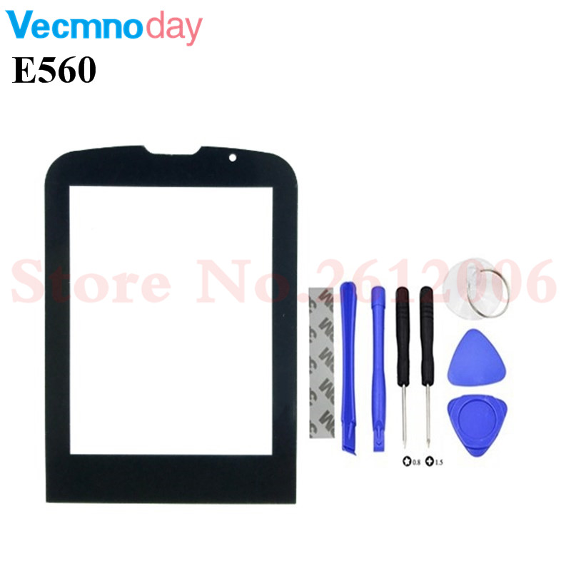 Vecmnoday Black Screen For <font><b>Philips</b></font> Xenium <font><b>E560</b></font> E-560 Glass lens Panel Not Touch Screen Digitizer Replacement + tracking Number image