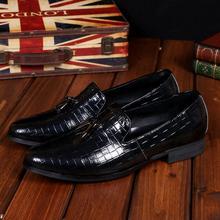 Christia Bella Fashion Männer Party Hochzeit Handmade Loafers mit Quaste Italienische Echtem Leder Business Kleid Schuhe für Männer Wohnungen