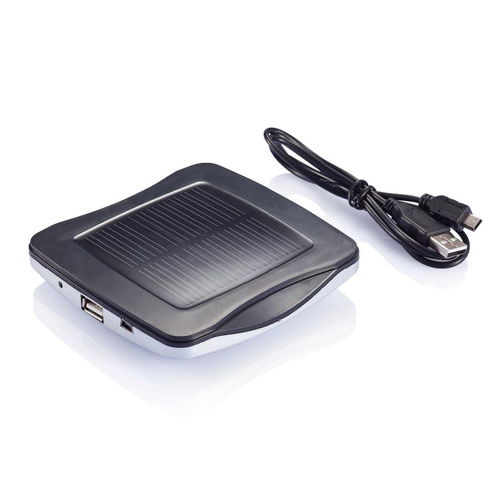 מקורי מותג חלון מטען סולארי 2400mAh עם מדבקה,יציאת מטען סולארי & כוח הבנק עם פראייר עבור טלפונים ניידים,GPS ברכב