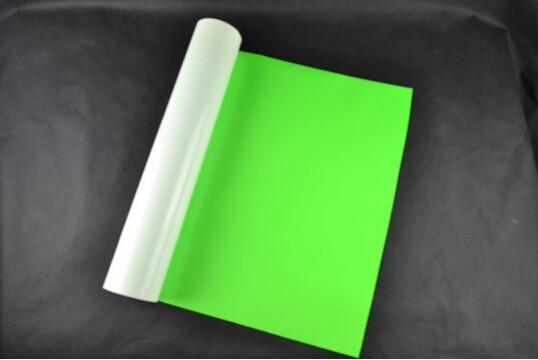 (0.5*5M) Neon Green 2.5 Square Meter PU Vinyl Heat Transfer Vinyl For Clothing t shirt Vinyl Plotter Iron On Vinyl Textil R614 0 5 5m neon pink 2 5 square meter of high quality pu heat transfer vinyl film for t shirts iron on vinyl for heat press npk611