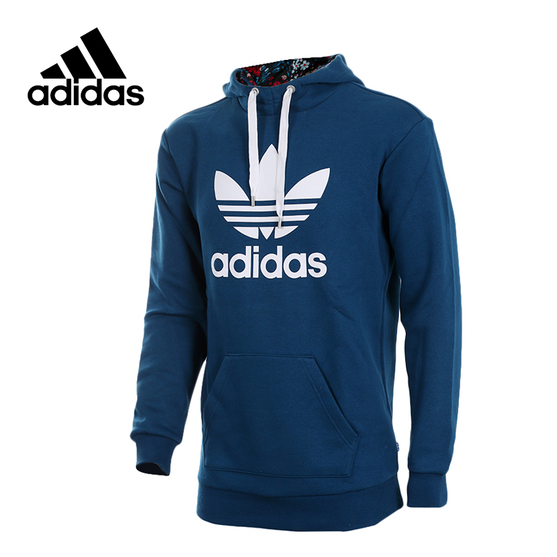 Original New Arrival Official Adidas Originals Women's Hooded Pullover Jerseys Trainning Sportswear adidas original new arrival official women s tight elastic waist full length pants sportswear aj8153