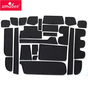 Image 2 - smabee Gate Slot Cup Pad for HONDA STEP WGN Accessories Non Slip Mats Interior Rubber Door Mat Coaster Car Styling Cup Holder