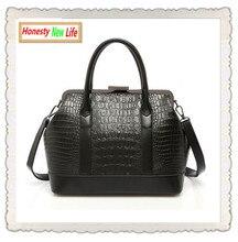 Luxury Vintage Crocodile Hasp Handbag 2015 female retro leather sequined designer inspired brand shoulder bag sac a main women 5