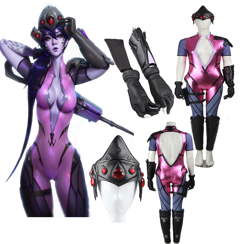 Hot Game Widowmaker Cosplay Costume Sexy Clothing Full -3216