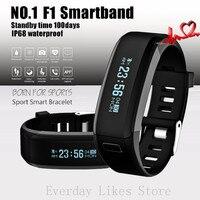 Original NO.1 F1 Smartband Smart Wristbands Sport Band Intelligent Bracelet Calls Reminder Heart Rate Monitor IP68 Waterproof