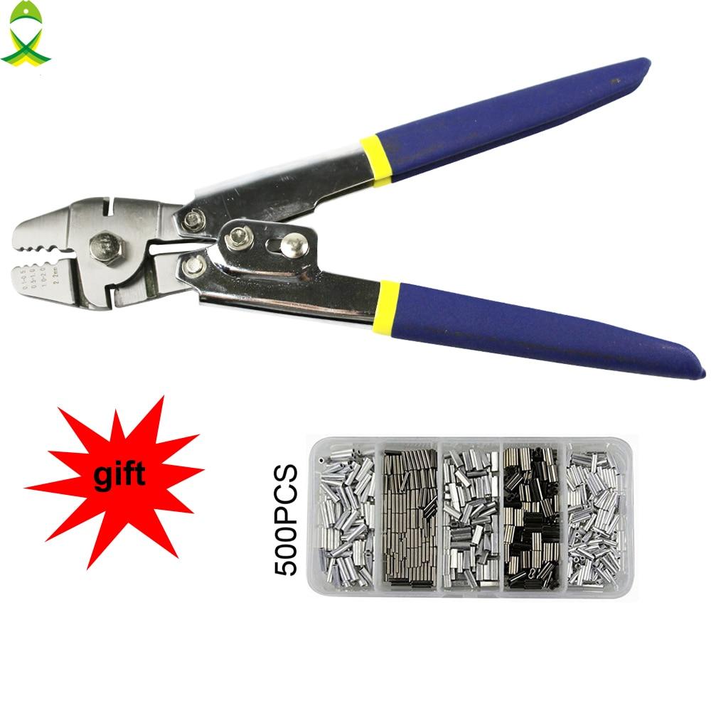 JSM en acier inoxydable Anti-corrosion crimperpliers pour sertissage manches s'attaquer Cutter Ciseaux Pince À Sertir terminal