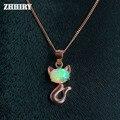 Природный Опал Ожерелье Огонь Драгоценного Камня Стерлингового Серебра 925 Женщин Ювелирные Изделия Много Цвет