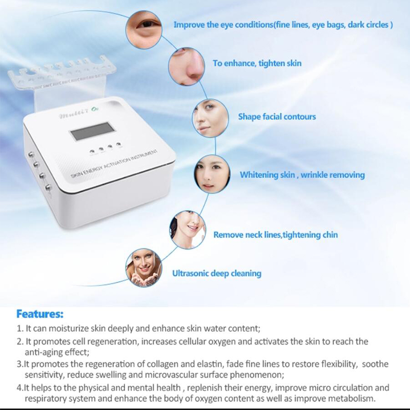 Drop shipping 7 in 1 diamond microdermabrasion mesotherapy electroporation beauty devicemicrocurrent face lift machine - 3