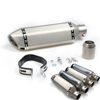 Universal 38 51MM Motorcycle Exhaust Pipe Modified Muffler Pipe For KTM 150 250 300 350 400 450 500 525 530 SX F SX EXC EXC G
