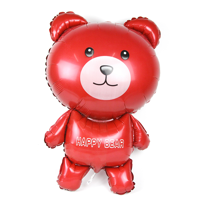39-palčni velik stoječi vesel medved helijev folija balon rojstni dan poročni zabava dobavitelj počitnice dekoracija otroške igrače