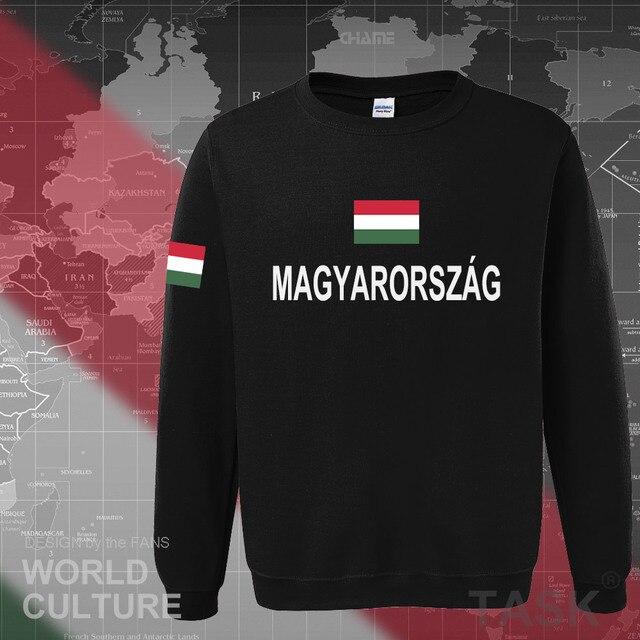 Hungary Hungarian hoodies men sweatshirt sweat new hip hop streetwear tracksuit nation footballer sporting country 2017 HUN HU 1