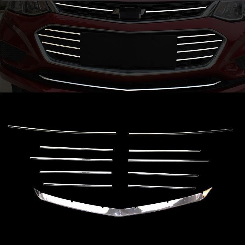 Grille Window Body Exterior Excent Auto Automovil Decorative Chromium Sticker Strip Covers Car Styling 15 17 FOR Chevrolet Cruze in Chromium Styling from Automobiles Motorcycles