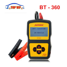 Originale Autool BT360 Battery Tester 12 V Automotive Battery Analyzer 2000CCA 220AH Multi-Language Ricarica Della Batteria Sistema Tester