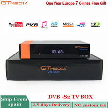 Gtmedia V8 Nova Satellite Receiver Freesat DVB-S2 V8 Built-in Wifi H.265 With 1 Year Europe 7 lines Cccam Support Dolby Youtube dvb s2 1080p hd v8 nove satellite tv receiver with 1 year cccam clines iks full hd h 265 freesat v8 nove sat decoder youtube