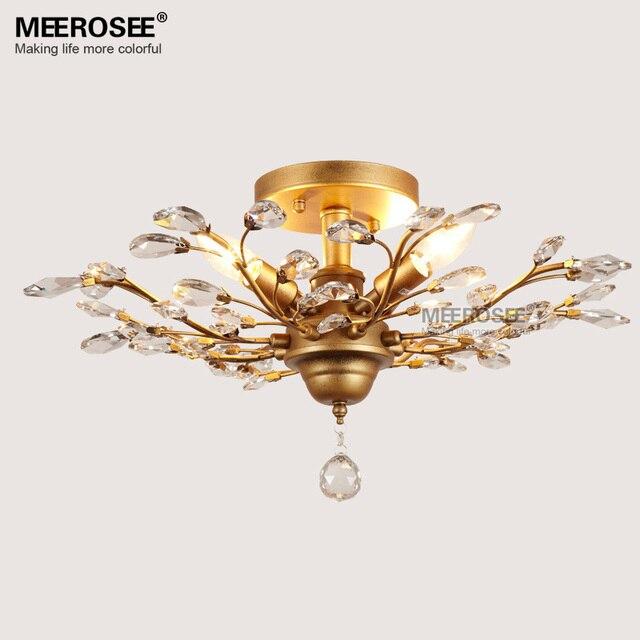 Vintage Kristall Kronleuchter Leuchte Amerikanischen Stil Lüster Suspension  Lampara De Techo Esszimmer Wohnzimmer Beleuchtung